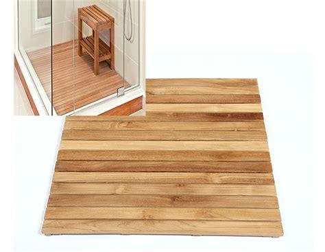 caillebotis pour en bois de teck massif tuile de 30 meubles en teck