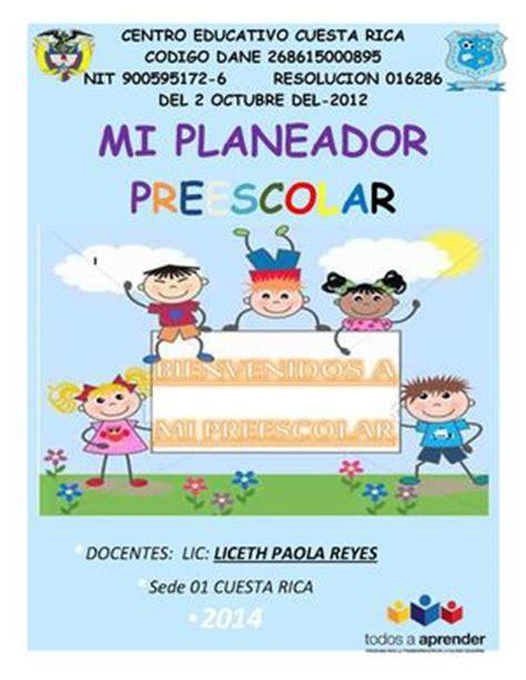 Calaméo  Planeación De Clases Preescolar Doc Liceth