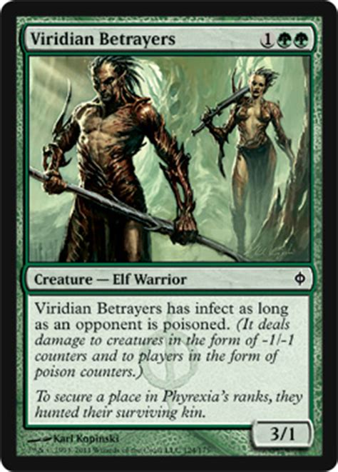 New Phyrexia Green Event Deck Viridian Betrayers New Phyrexia Magic The Gathering