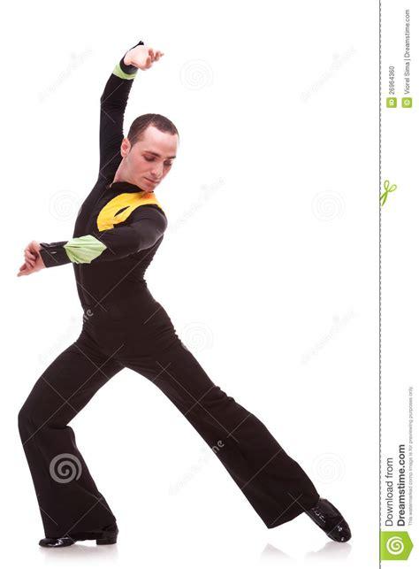homme de danse posant dans un mouvement de danse photo stock image 26964360