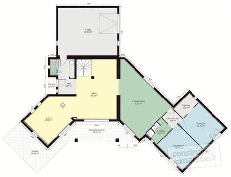 plan maison contemporaine gratuit maison moderne