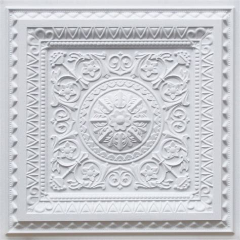 d223 pvc faux tin drop in ceiling tile 2x2 made of pvc qty of 6 mediterranean ceiling