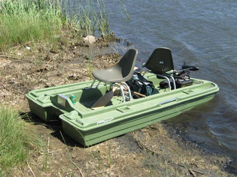 Bass Hunter Boat Modifications by Pond Boat Fishing Stillwater