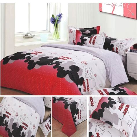 popular mickey mouse size bedding buy cheap mickey