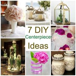 7 diy centerpiece ideas diy weddings