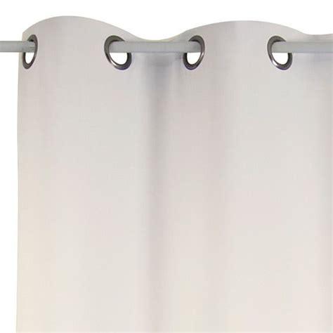 rideau anti bruit 135 x h250 cm chut ecru rideau thermique et isolant eminza