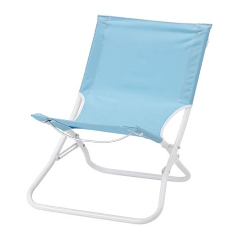h 197 m 214 chaise de plage pliable bleu clair ikea