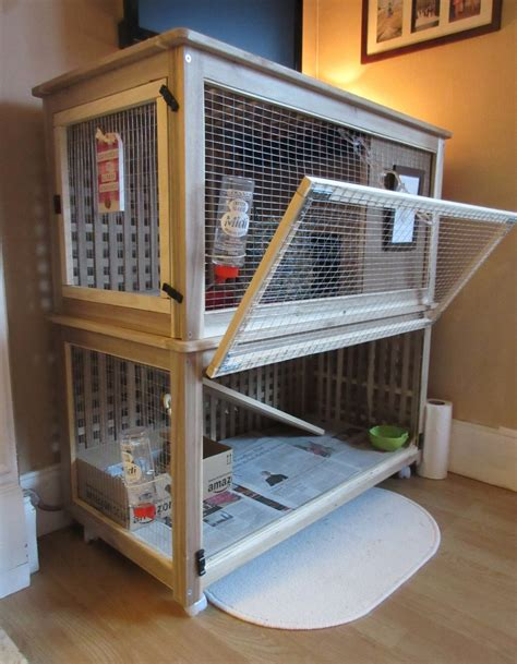 The Bunny Palace (indoor Rabbit Cage)  Ikea Hackers