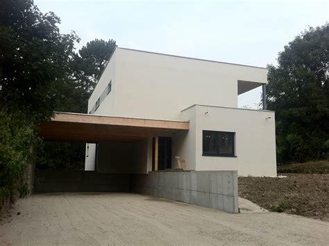constructeur de maisons 224 ossature bois 224 toit plat en alsace maisons bois lutz
