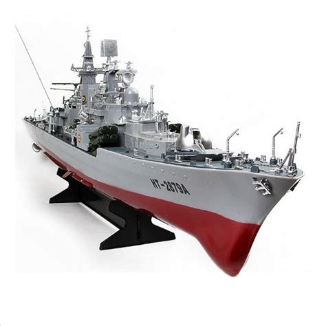 Rc Boats Military by Ht 2879a Rc Guided Missile Destroyer Model Electric Rc