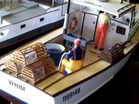 Toy Lobster Boat by Midwest Boothbay Rc Lobster Boat Whim Youtube