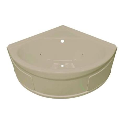 4ft bathtubs home depot lyons industries sea wave 4 ft whirlpool tub with center