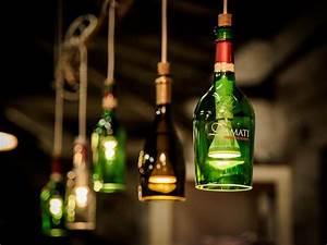 Lichterkette In Flasche : die besten 25 lampe aus flaschen ideen auf pinterest gin brille wiederverwertete flaschen ~ Markanthonyermac.com Haus und Dekorationen