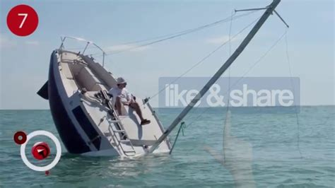 Sailboats Videos by Is This Sailboat Sinking For Real We Couldn T Believe