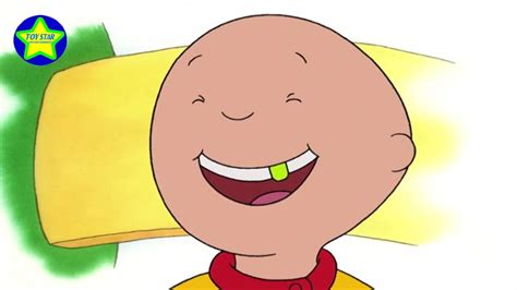 Cartoon Caillou Animated Cartoons For Kids Caillou Loves