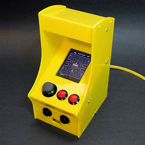 cupcade the raspberry pi powered micro arcade cabinet kit v1 0 id 1783 119 95 adafruit