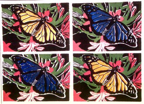 Art Lesson Andy Warhol Style Linoleum Prints