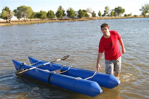 Homemade Fishing Boat by Homemade Inflatable Boat 3 Steps