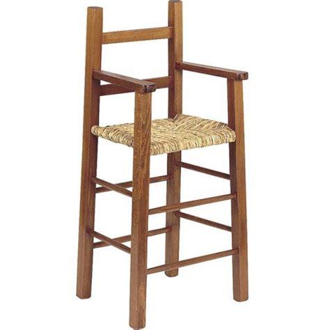 chaise haute enfant bois fonc 233 la vannerie d aujourd hui