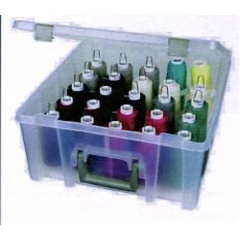 boite de rangement pour bobines de fil 25 224 50 cones dimensions 39 x 43 x 13 cm