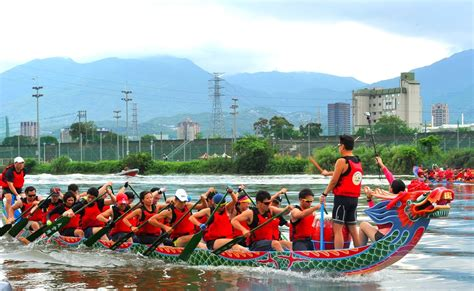 Dragon Boat Festival 2018 Images by 2018 Taipei Dragon Boat Festival Taipei Travel