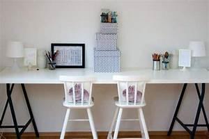 Schreibtisch Kinderzimmer Ikea : ein diy schreibtisch f r kinder von ikea kinderzimmer pinterest schreibtisch f r kinder ~ Markanthonyermac.com Haus und Dekorationen