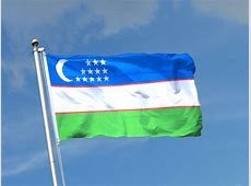 Buy Uzbekistan Flag 3x5 ft 90x150 cm RoyalFlags