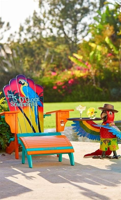Margaritaville Adirondack Chair Parrot by Margaritaville 5 O Clock Somewhere Adirondack Chair And