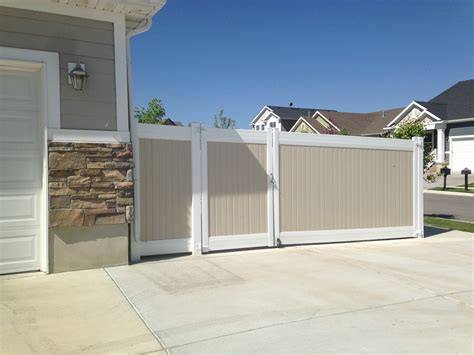 vinyl fence systems fence and deck depot
