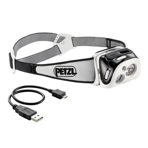 le frontale rechargeable petzl reactik