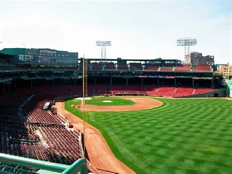 view from budweiser roof deck picture of fenway park boston tripadvisor