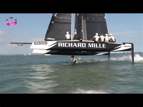 Gc32 Catamaran Cost by Richard Mille And A Flying Gc32 Catamaran For The Around