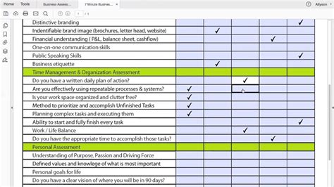 Project Management Worksheet  Is Your Business Model Broken? Youtube