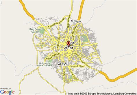 map of le meridien al hada at taif