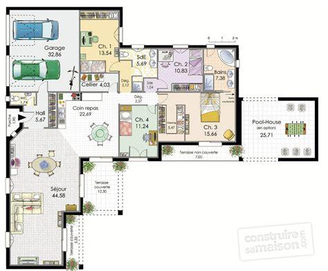 villa de plain pied d 233 du plan de villa de plain pied faire construire sa maison