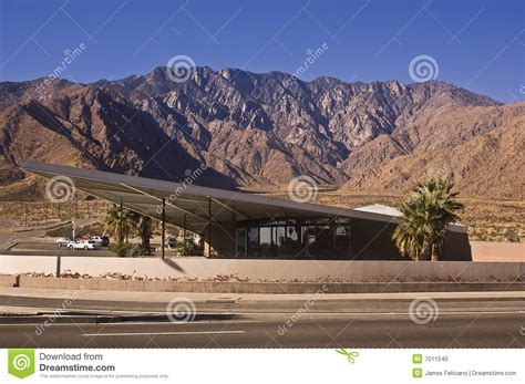 palm springs visitor center stock photo image 7011240