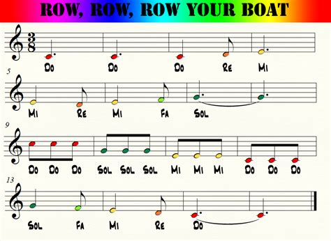 Row Your Boat Full Song by Row Row Row Your Boat Boomwhacking The World Rainbows