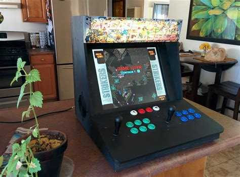 make a bartop arcade from an pc make