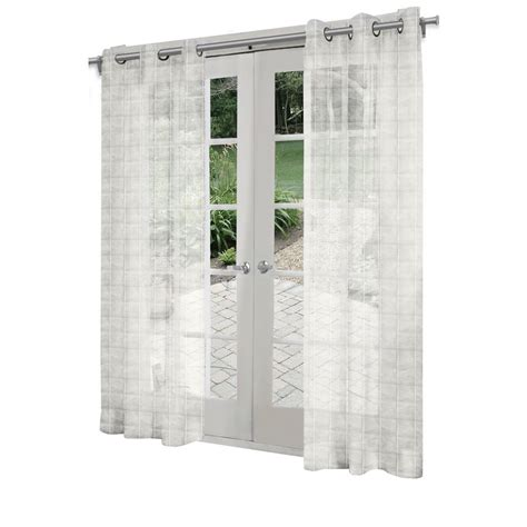 Light Filtering Thermal Curtains by Design Decor 7 Ft L Light Filtering Solid White