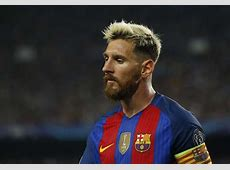 Blonde hair, the latest footballers' trend