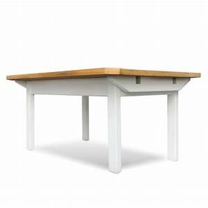 Tisch Weiß Holz : esstisch massiv holz ausziehbarer tisch wei landhausstil ~ Markanthonyermac.com Haus und Dekorationen