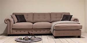 Couch L Form Grau : lounge sofa ecke landhaus stil couch sitzecke l form m bel wohnzimmer r ume moebeldeal ~ Markanthonyermac.com Haus und Dekorationen