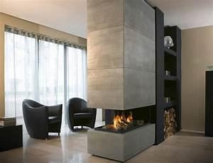 Moderne Tische Für Wohnzimmer : kamine aus beton ein attraktives aussehen und stil ideen top ~ Markanthonyermac.com Haus und Dekorationen