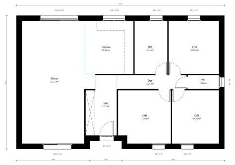 logiciel de plan maison gratuit 11 plan maison plain pied 3 chambres maison moderne evtod