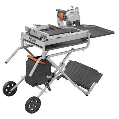 ridgid 7 quot site tile saw with laser model r4007 nex tech classifieds