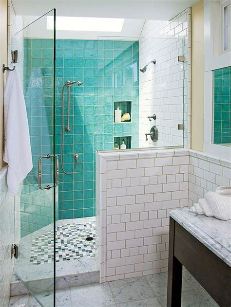 Bathroom Tile Design Ideas Turquoise Shower Floor And Tiles Interiors Inside Ideas Interiors design about Everything [magnanprojects.com]
