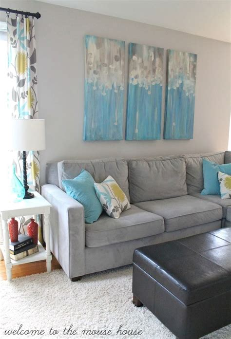 grey brown and turquoise living room best 25 turquoise accent walls ideas on
