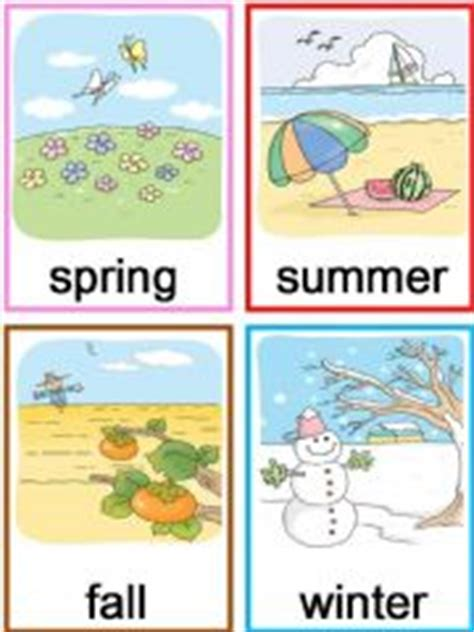 Esl  English Powerpoints Four Seasons