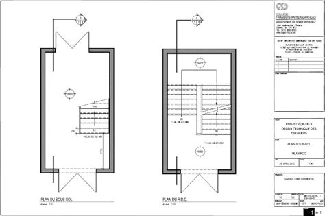 les escaliers du cegep garneau g design