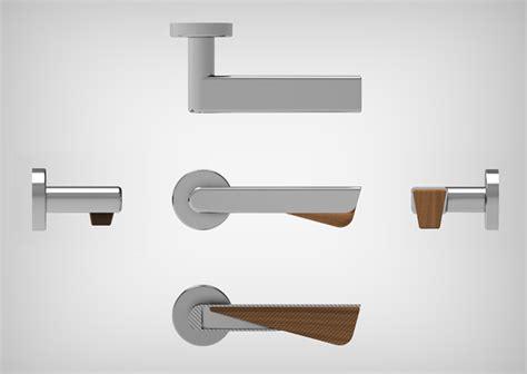 poign 233 e design avec cale porte en bois